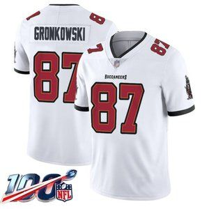 Tampa Bay Buccaneers Rob Gronkowski White Jersey